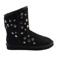 Угги Джимми Чу Старлит Черные UGG & Jimmy Choo Starlit Black