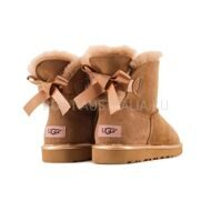 UGG Bailey Bow Mini Chestnut II
