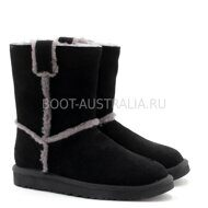Угги UGG Short Spill Seam Boot Black