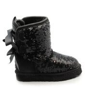 UGG Kids Bow Sparcles Black