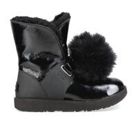 UGG Isley Patent Waterproof Boot Black