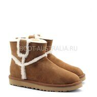 Угги Мини UGG Mini Spill Seam Mini Boot Chestnut Рыжие
