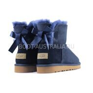 UGG Bailey Bow Mini II Navy
