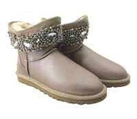 UGG Jewelled Gold Rose