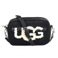 Сумка UGG Australia Janey Sheepskin Crossbody Black Черная