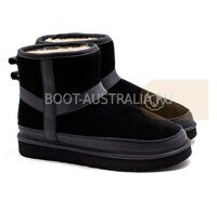 Женские UGG Classic Mini Hard Step Black Черные