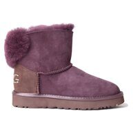 UGG WOMENS CLASSIC MINI BLING PORT ФИОЛЕТОВЫЕ
