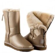 UGG Australia Zip Soft Gold
