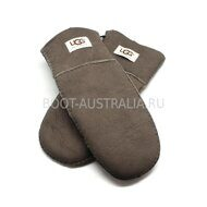 Женские Варежки UGG Australia Suede Light Chocolate - 1023